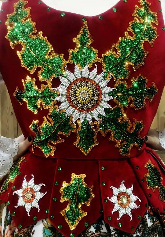 Leluja, folklor, ubrania góralskie dziewięciornik