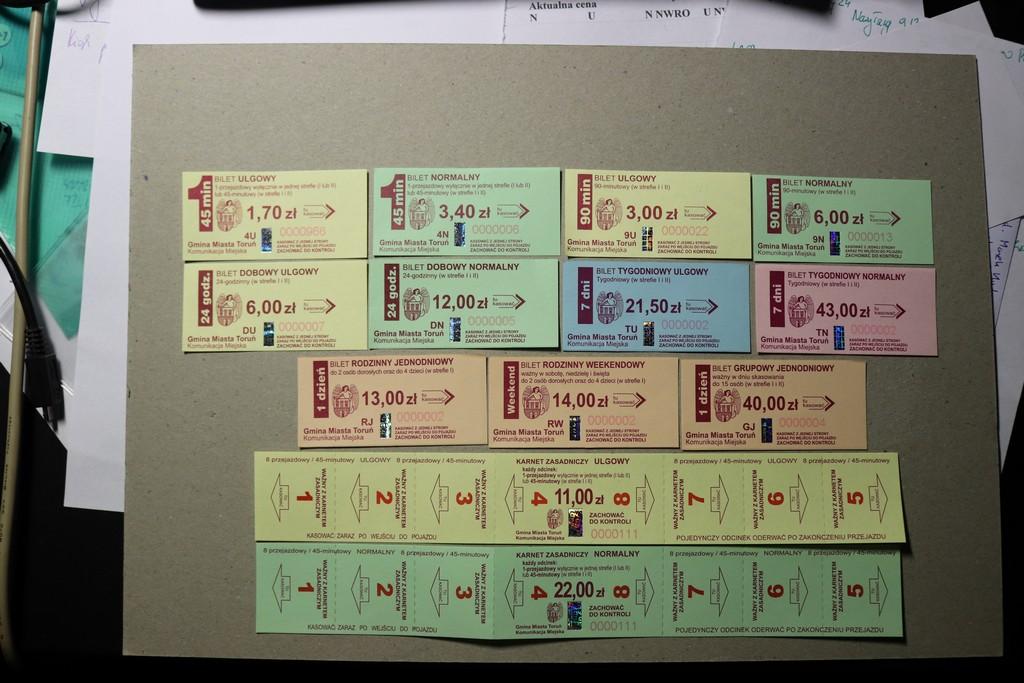 bilety - kolekcja