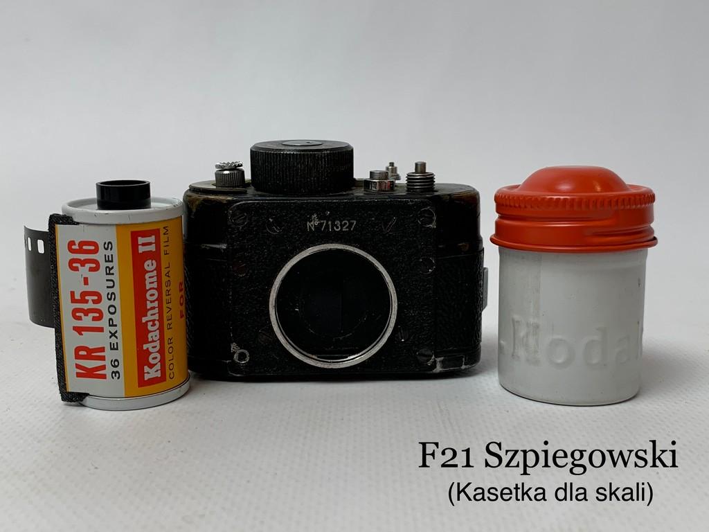aparaty kolekcja, F21 szpiegowski