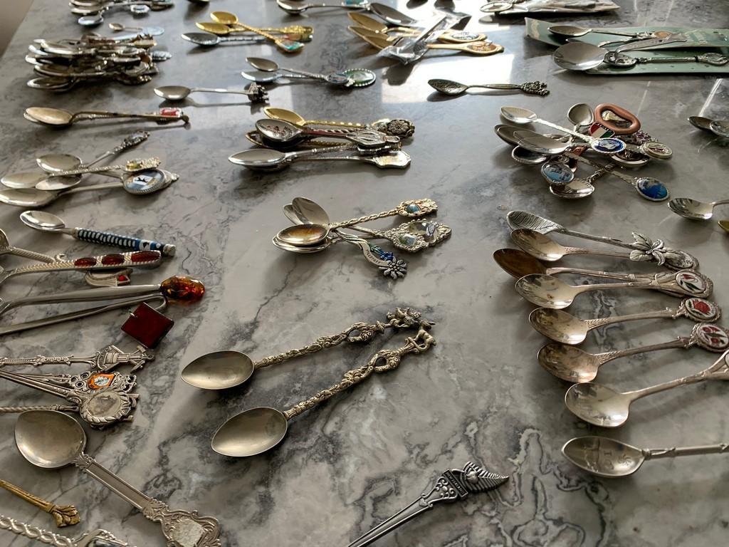 łyżeczki kolekcja