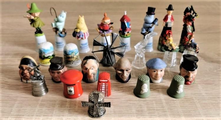 naparstki kolekcja