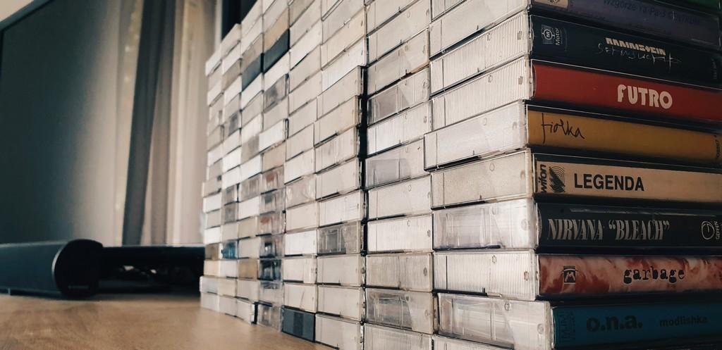 kasety kolekcja
