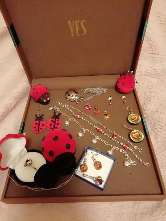 biedronki - kolekcja biżuteria